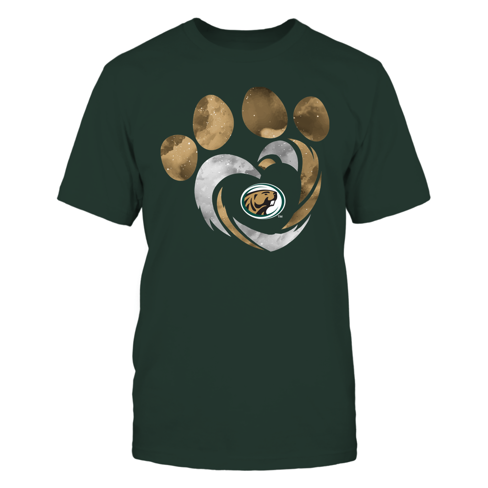 Bemidji State Beavers - Galaxy Hurricane - Paw Heart - Team Front picture