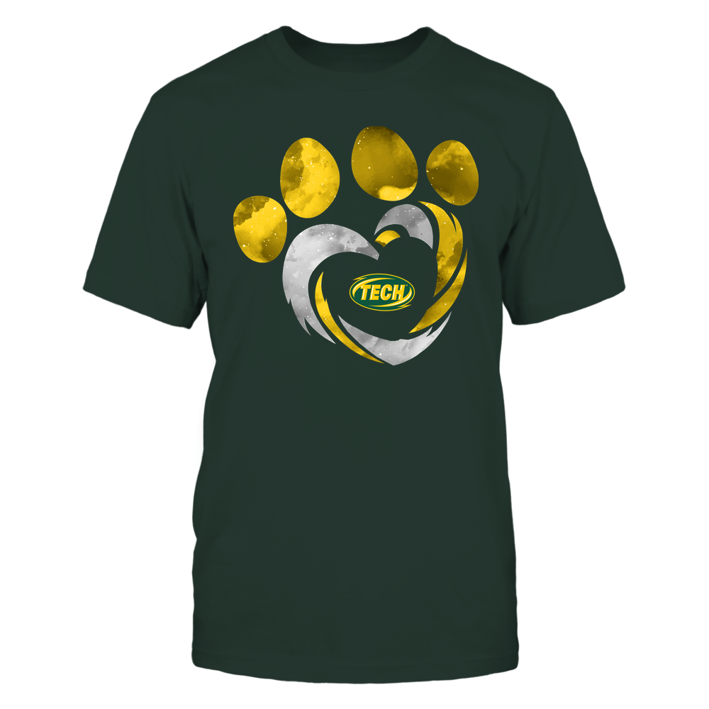 Arkansas Tech Golden Suns - Galaxy Hurricane - Paw Heart - Team Front picture