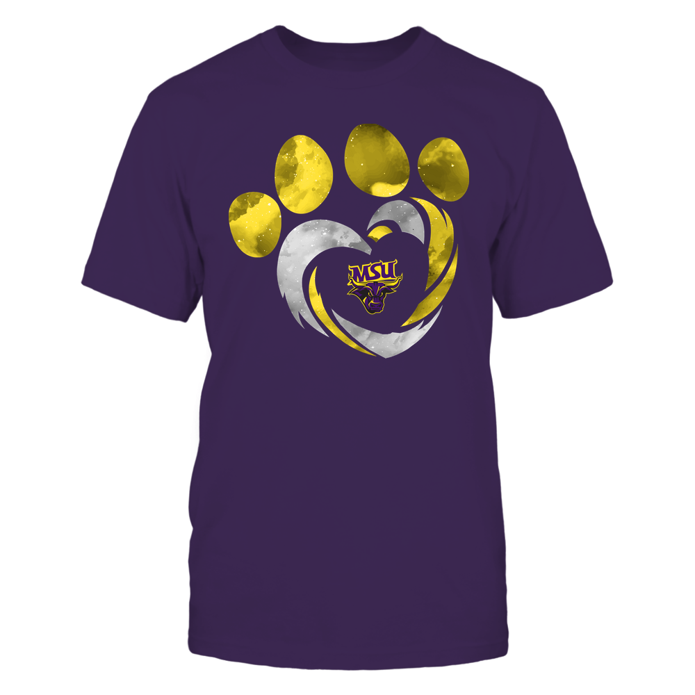Minnesota State Mavericks - Galaxy Hurricane - Paw Heart - Team Front picture