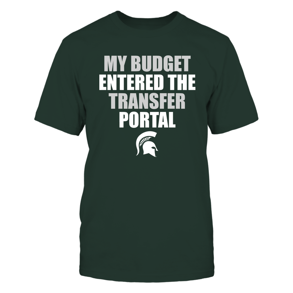 Michigan State Spartans - Football - My Budget Entered The Transfer Portal ^ Team Front picture