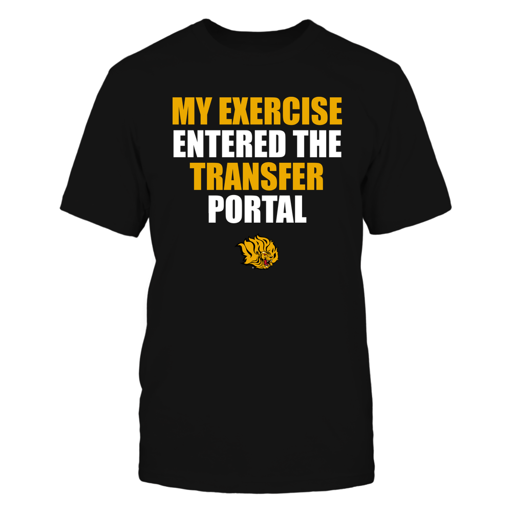 Arkansas Pine Bluff Golden Lions - Football - My Exercise Entered The Transfer Portal - Team Front picture