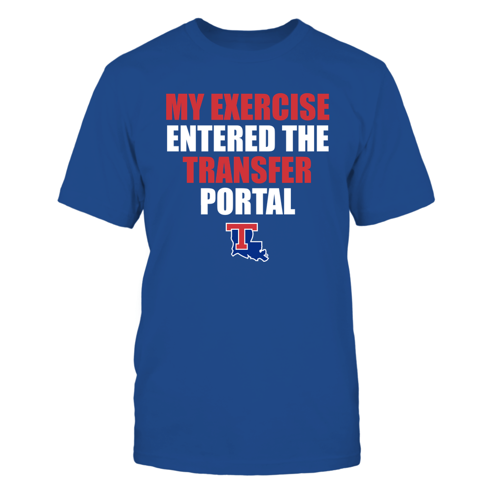 Louisiana Tech Bulldogs - Football - My Exercise Entered The Transfer Portal - Team Front picture