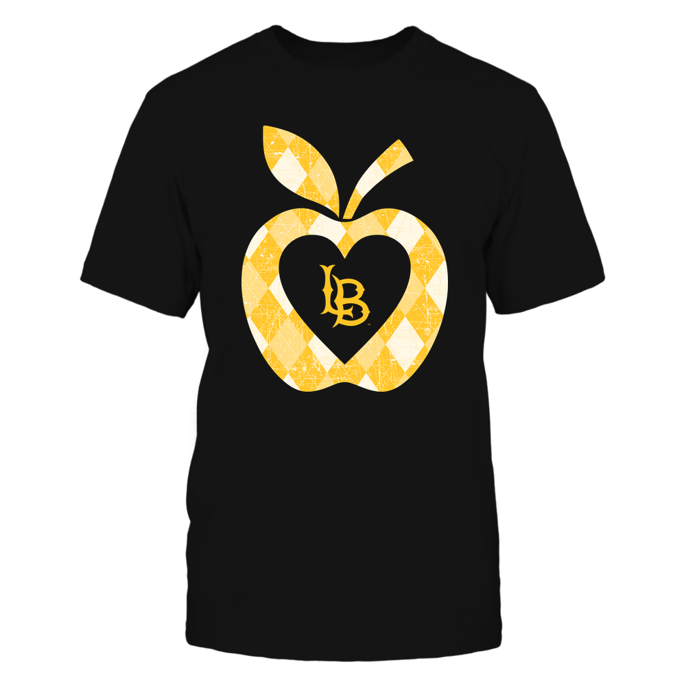 Long Beach State 49ers - Teacher - Argyle Pattern - Apple Front picture