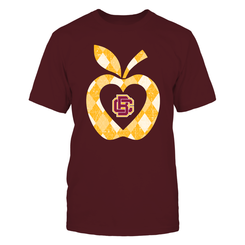 Bethune-Cookman Wildcats - Teacher - Argyle Pattern - Apple Front picture