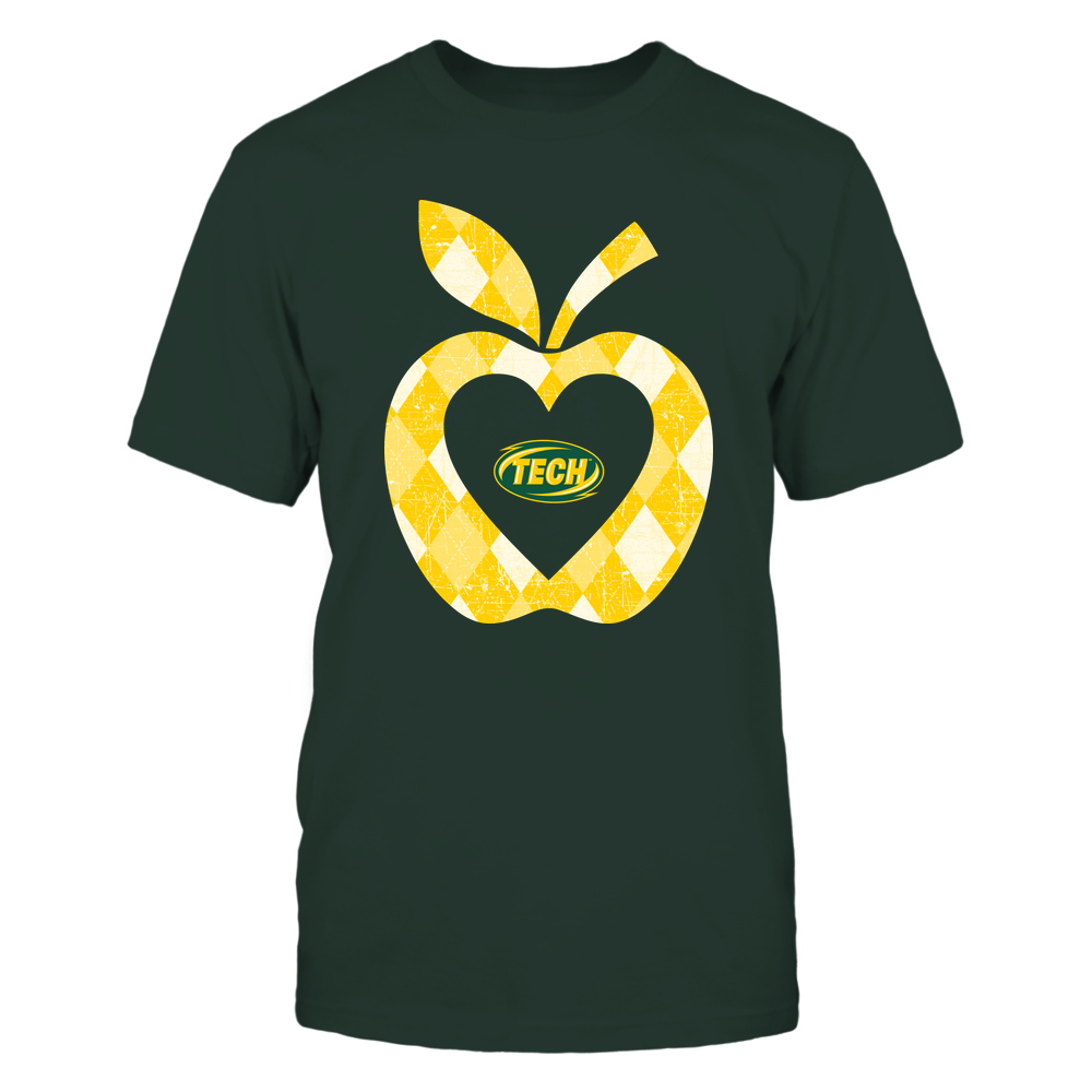 Arkansas Tech Golden Suns - Teacher - Argyle Pattern - Apple Front picture