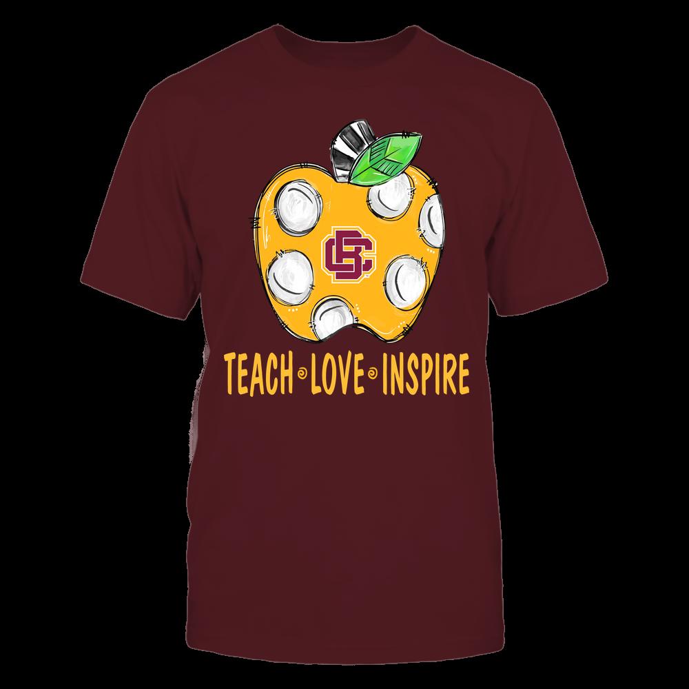 Bethune-Cookman Wildcats - Teacher ^ Doodle Apple Teach Love Inspire ^ Team Front picture