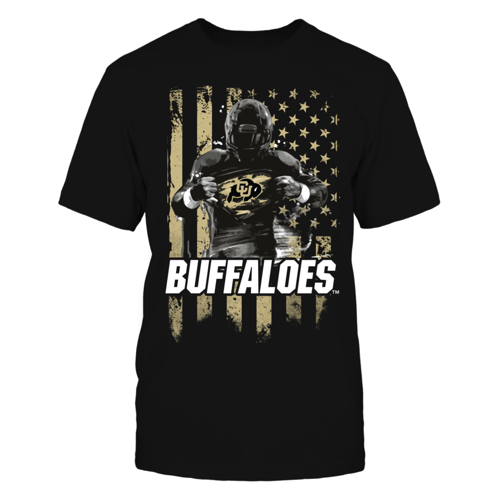 Player Flag - Colorado Buffaloes Front picture