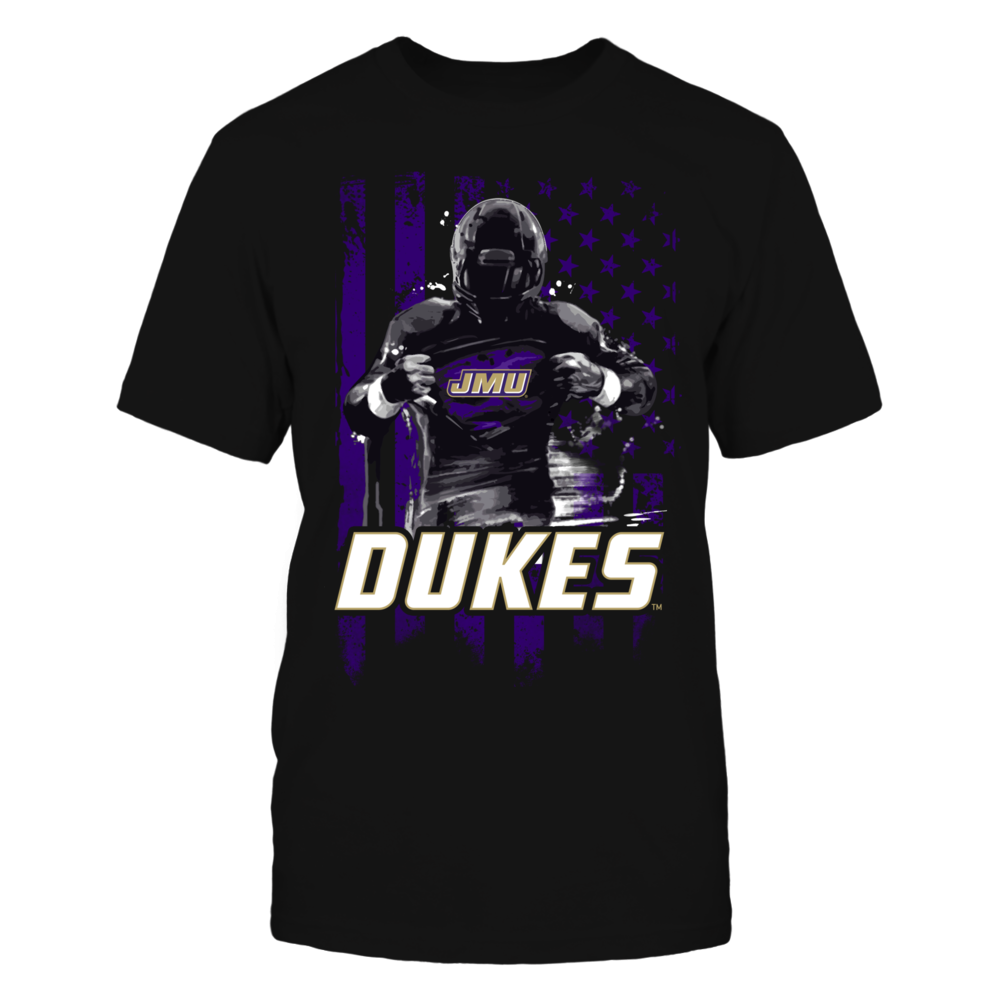 Player Flag - James Madison Dukes Front picture