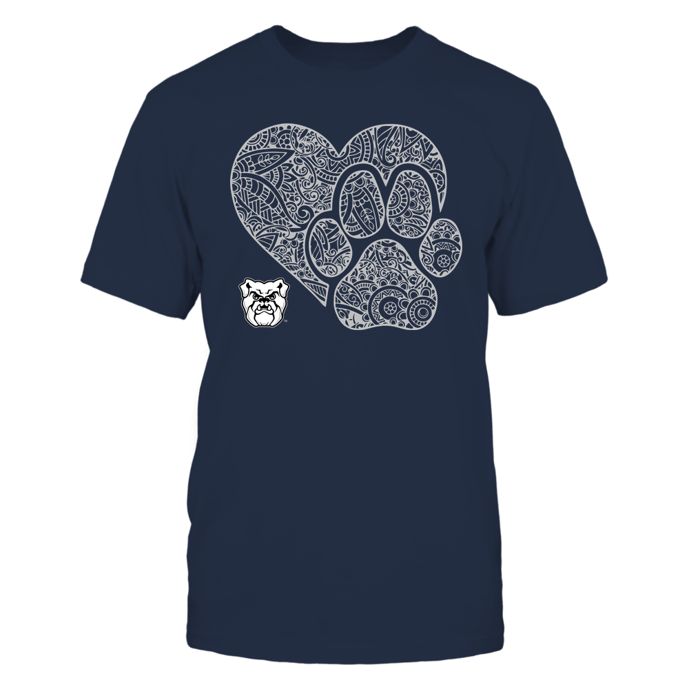 Butler Bulldogs - Mandala Heart Paw - Team Front picture