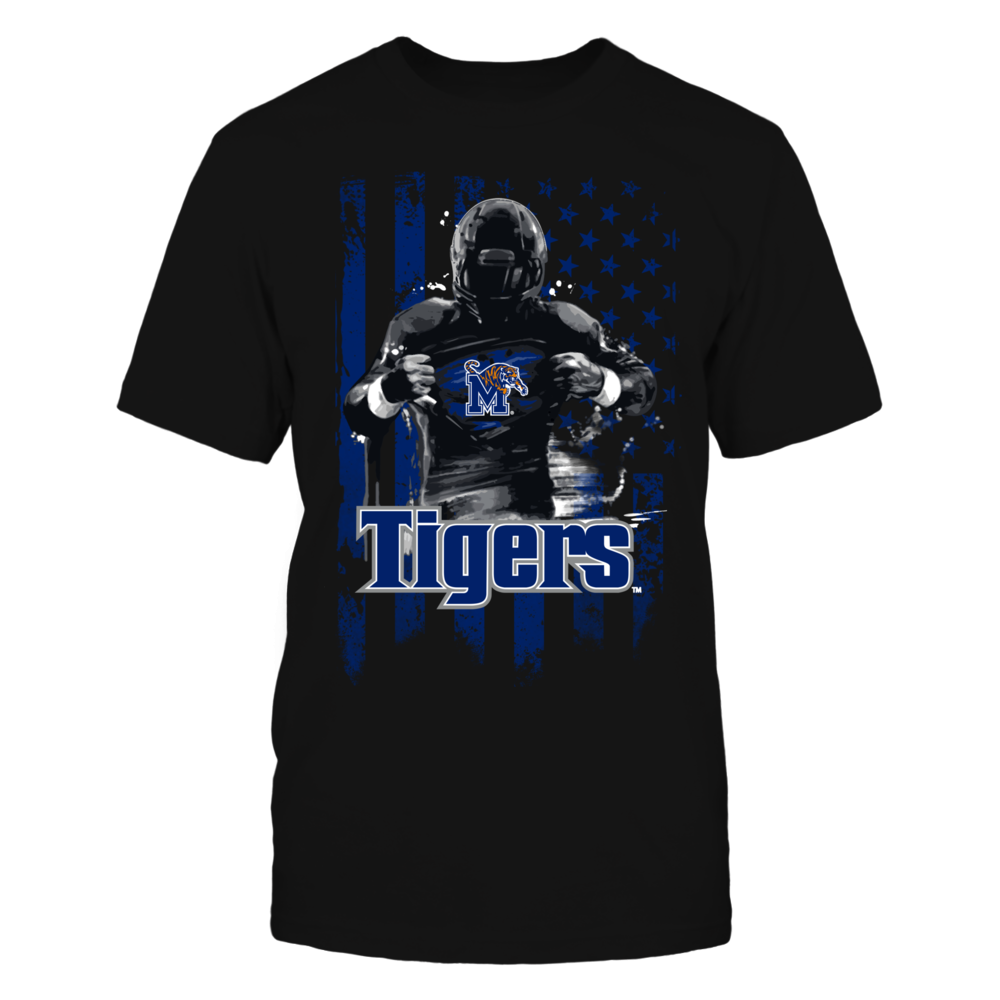 Player Flag - Memphis Tigers Front picture