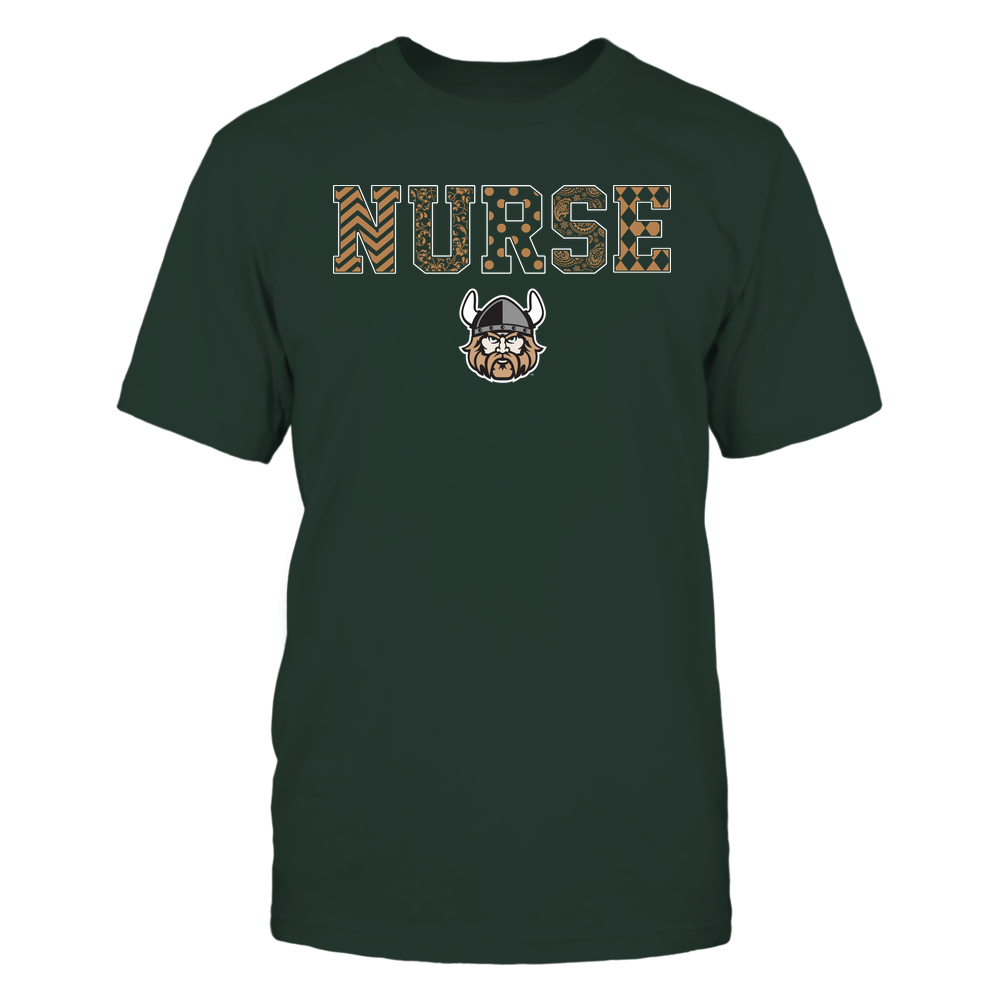 Cleveland State Vikings - Nurse - Patterned Slogan - Team Front picture