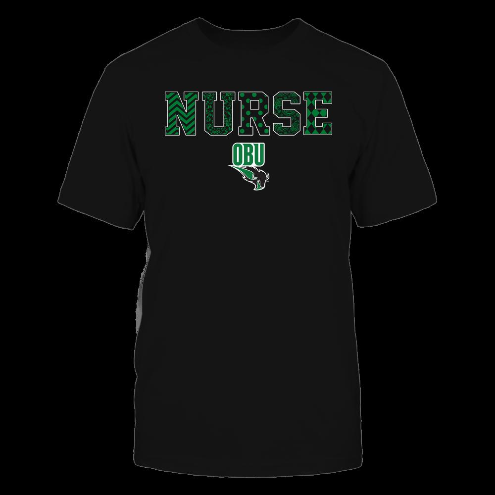 Oklahoma Baptist Bison - Nurse - Patterned Slogan - Team Front picture