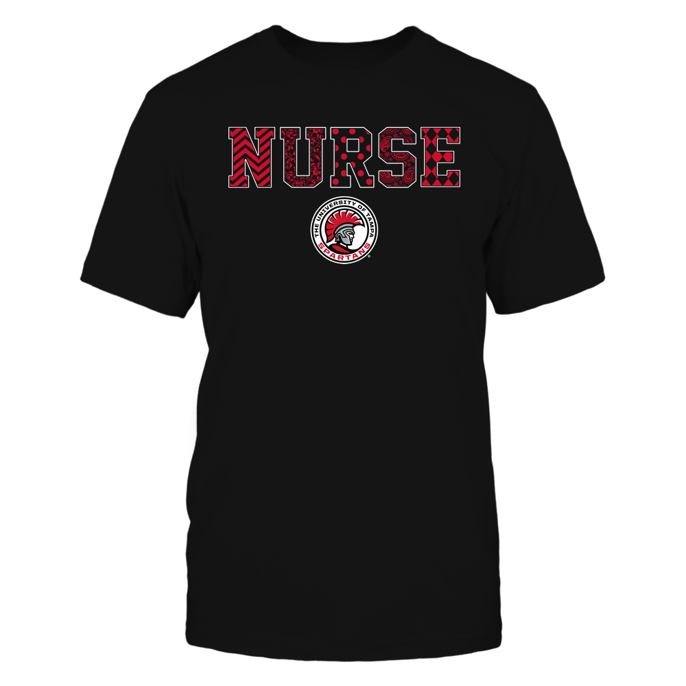 Tampa Spartans - Nurse - Patterned Slogan - Team Front picture