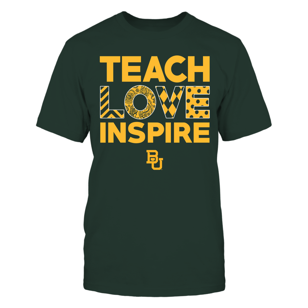 Baylor Bears - Teach Love Inspire - Love Pattern - Team Front picture