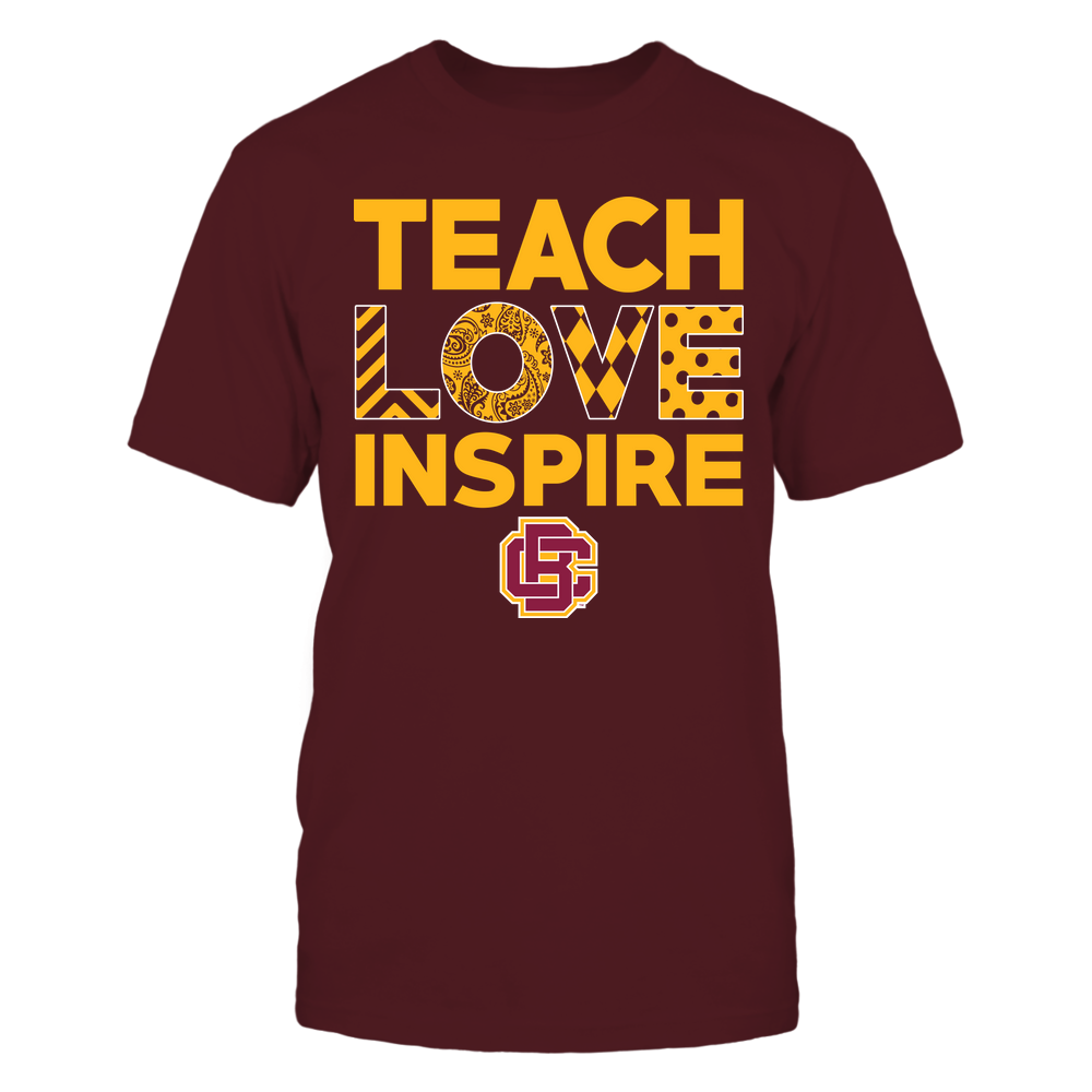 Bethune-Cookman Wildcats - Teach Love Inspire - Love Pattern - Team Front picture