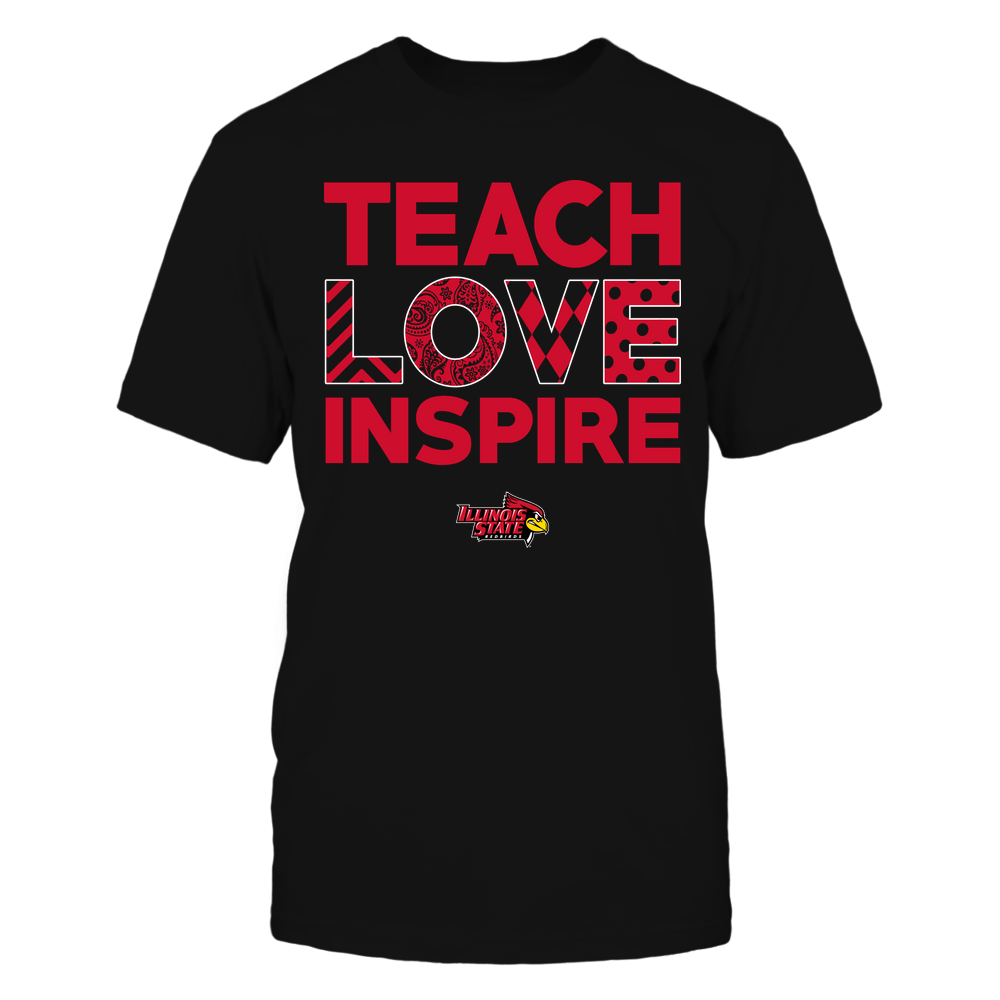 Illinois State Redbirds - Teach Love Inspire - Love Pattern - Team Front picture