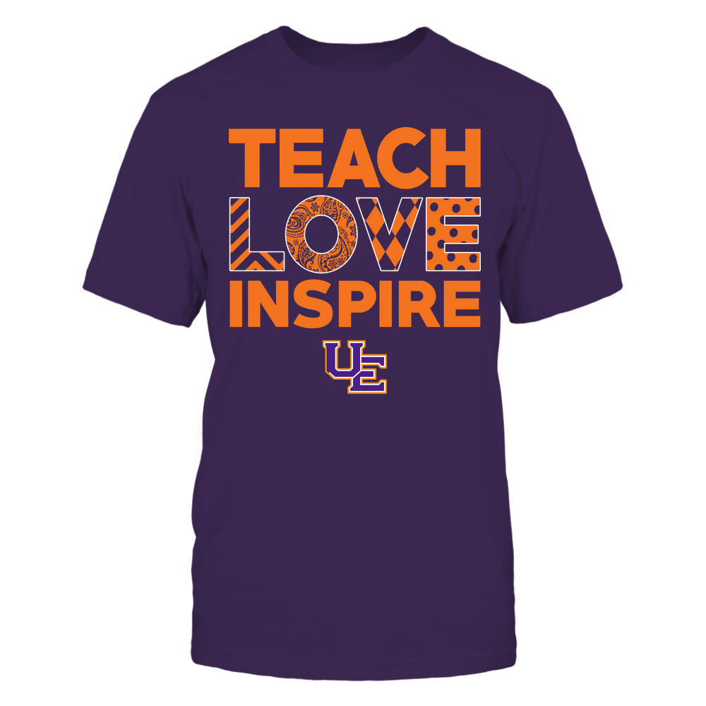 Evansville Purple Aces - Teach Love Inspire - Love Pattern - Team Front picture