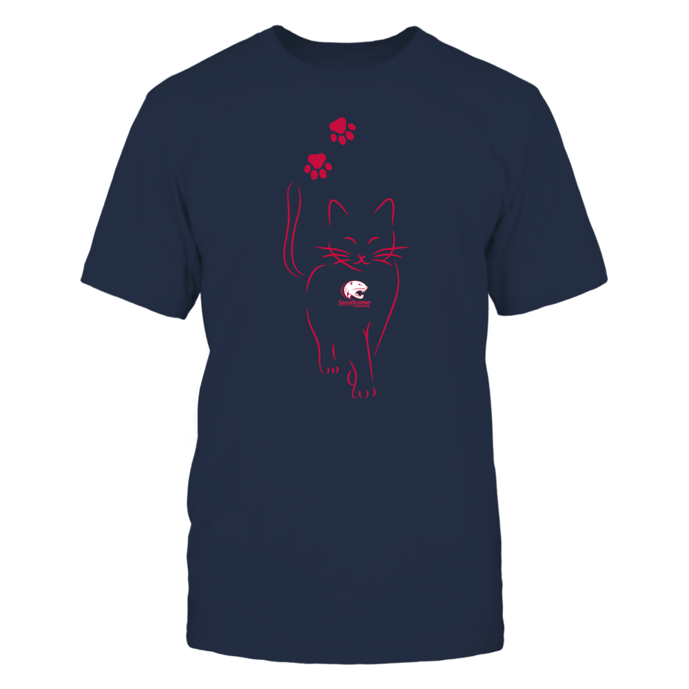 South Alabama Jaguars - Cat Outline Paw - Team Front picture