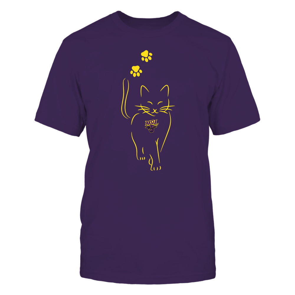 Minnesota State Mavericks - Cat Outline Paw - Team Front picture