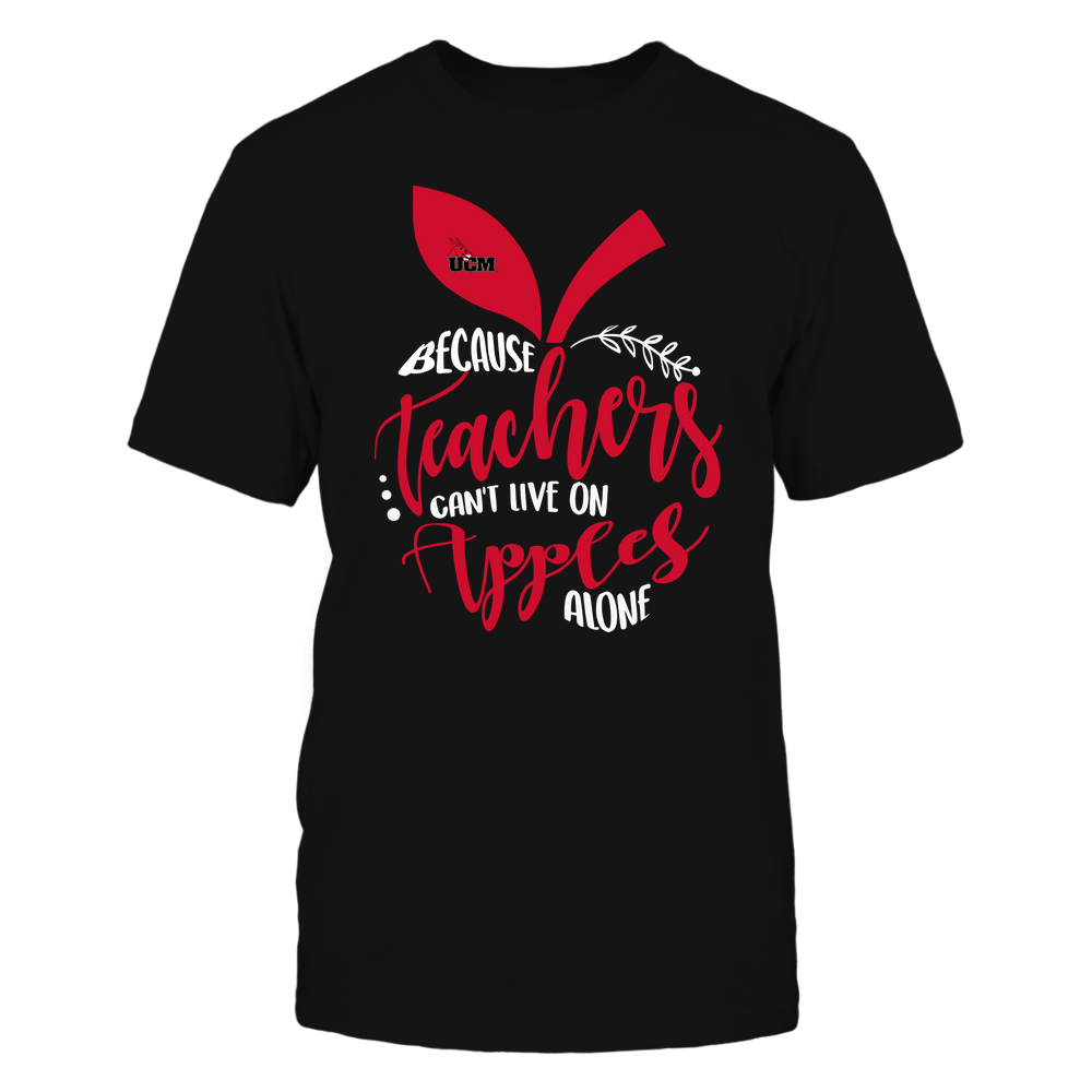 Central Missouri Mules - Teacher ^ Because Teachers Can Not Live On Apples Alone ^ Apple Shape Front picture