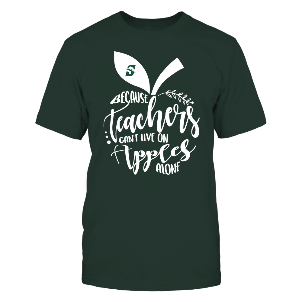 Stetson Hatters - Teacher ^ Because Teachers Can Not Live On Apples Alone ^ Apple Shape Front picture
