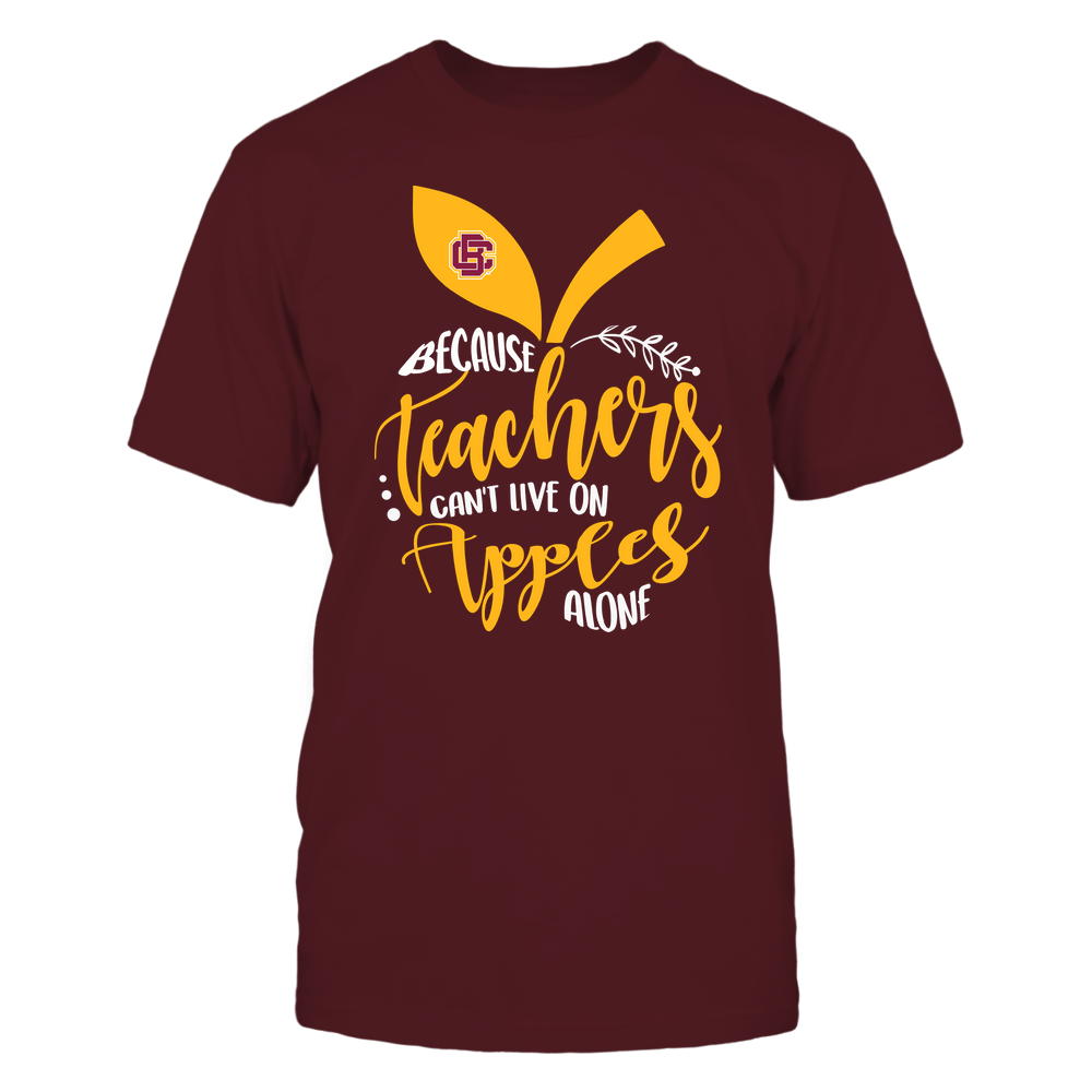 Bethune-Cookman Wildcats - Teacher ^ Because Teachers Can Not Live On Apples Alone ^ Apple Shape Front picture