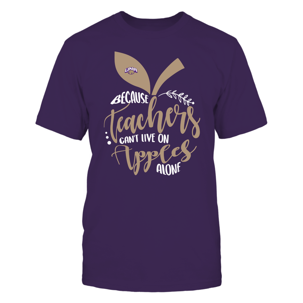 North Alabama Lions - Teacher ^ Because Teachers Can Not Live On Apples Alone ^ Apple Shape Front picture