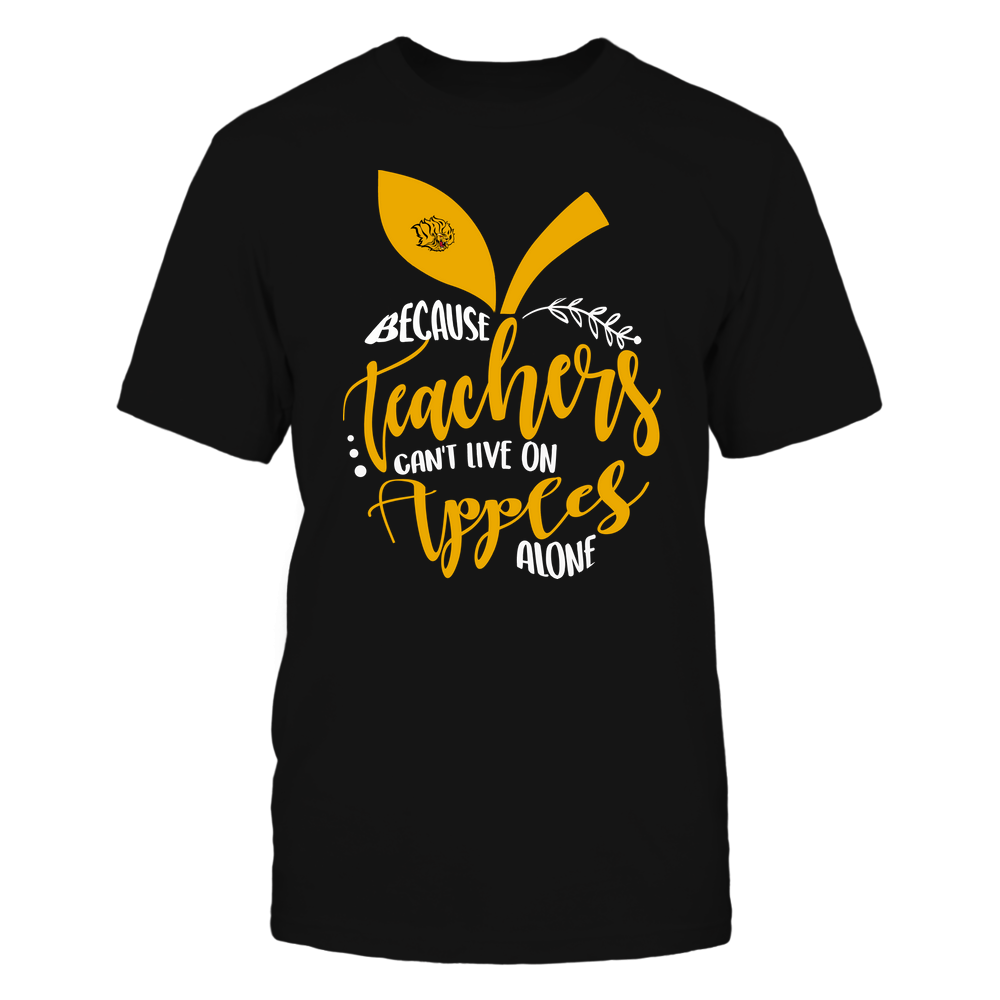 Arkansas Pine Bluff Golden Lions - Teacher ^ Because Teachers Can Not Live On Apples Alone ^ Apple Shape Front picture