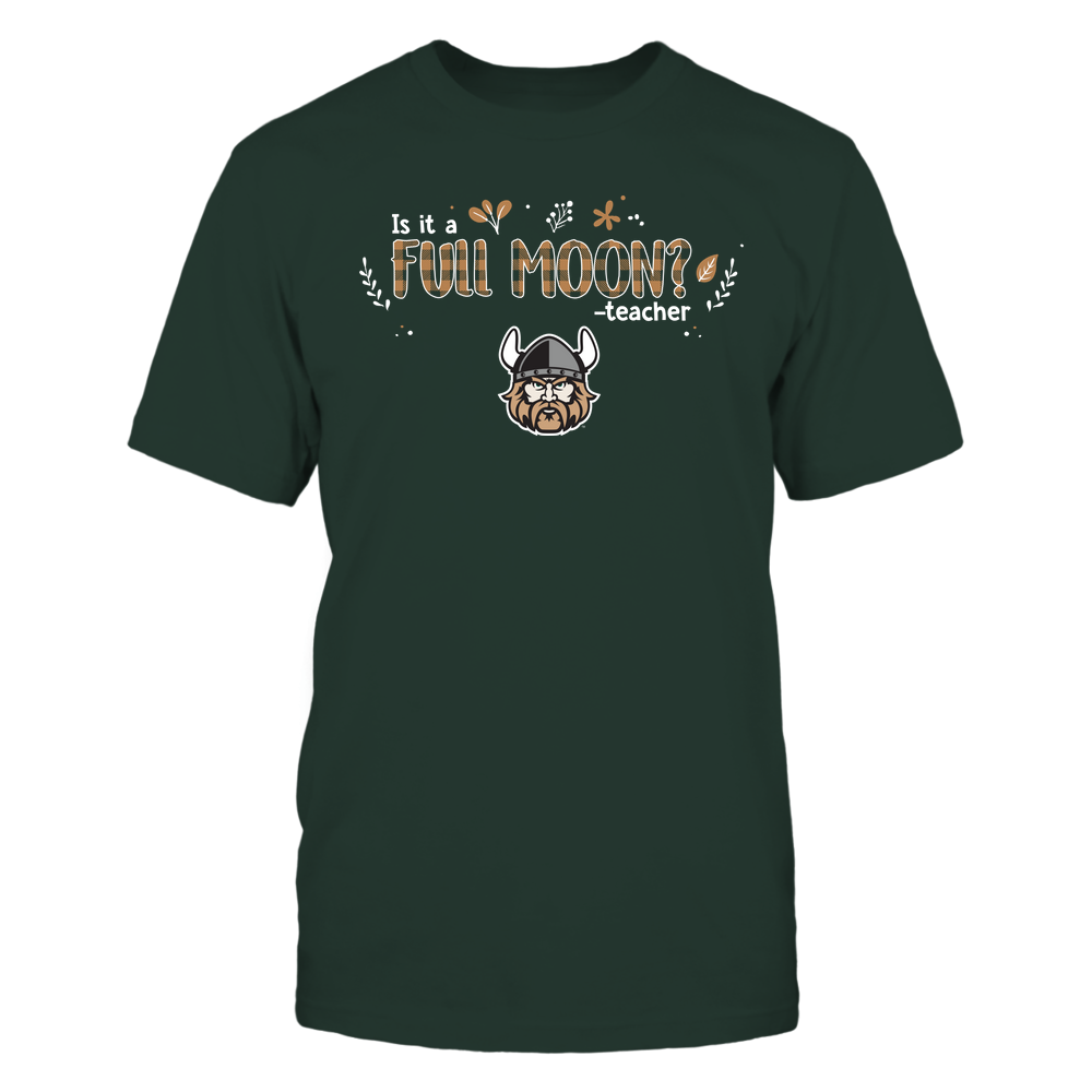 Cleveland State Vikings - Teacher - Is It A Full Moon - Checkered - Team Front picture