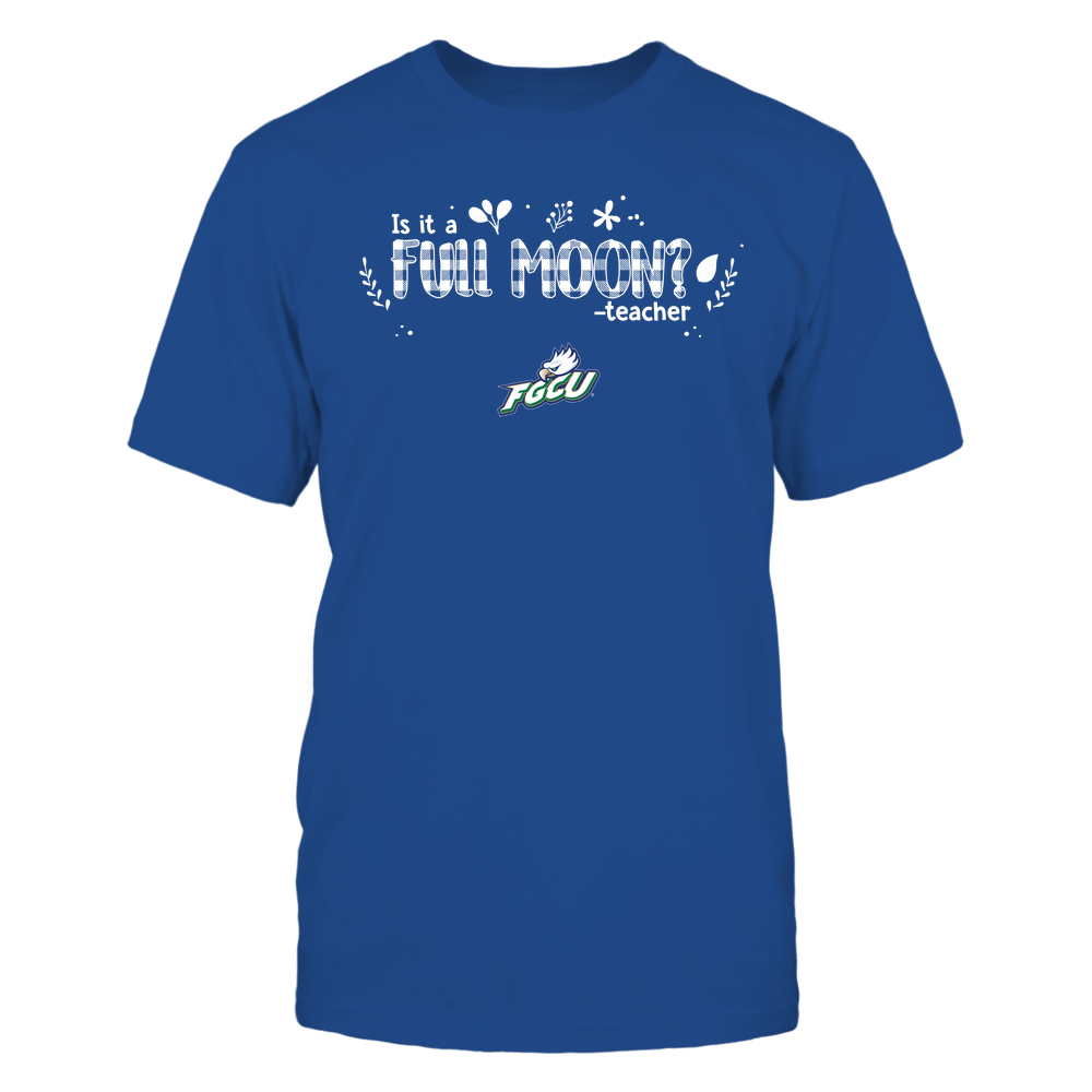 Florida Gulf Coast Eagles - Teacher - Is It A Full Moon - Checkered - Team Front picture