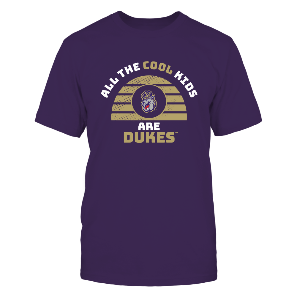James Madison Dukes - All The Cool Kids - Mascot Front picture