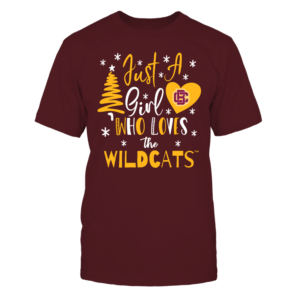 Bethune-Cookman Wildcats - Christmas - Just A Girl Who Loves - Mascot - Team Front picture