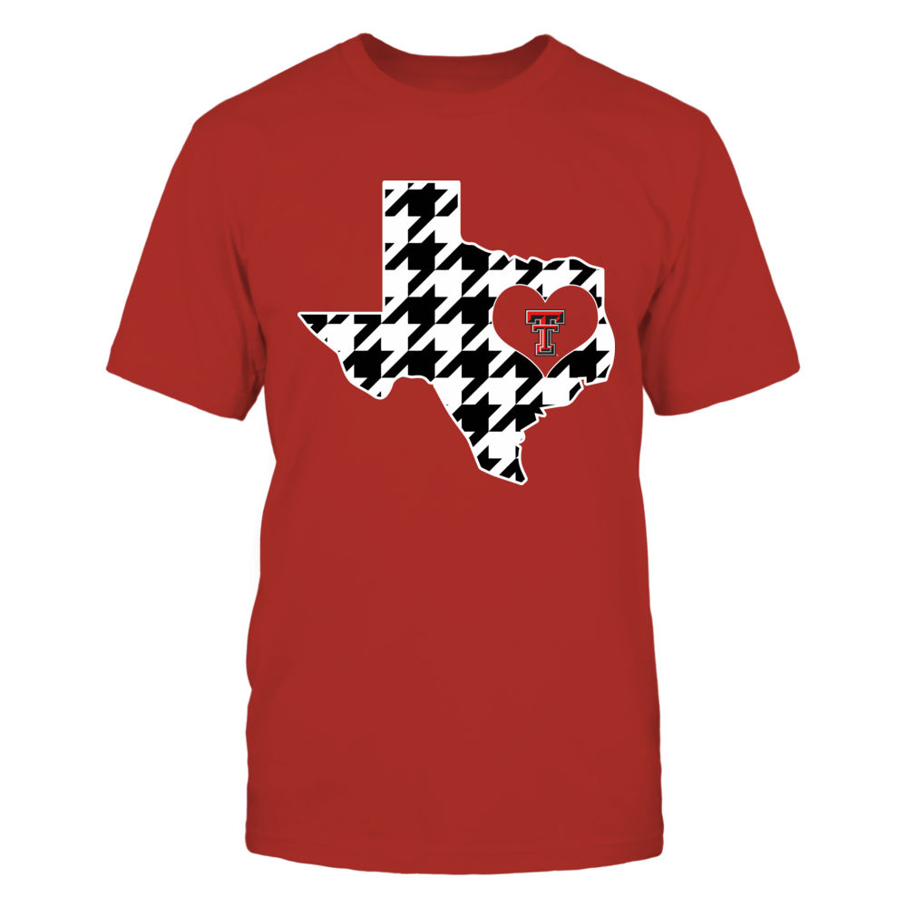 Texas Tech Red Raiders -  - Checkmate State Map - IF32-IC32-DS83 Front picture