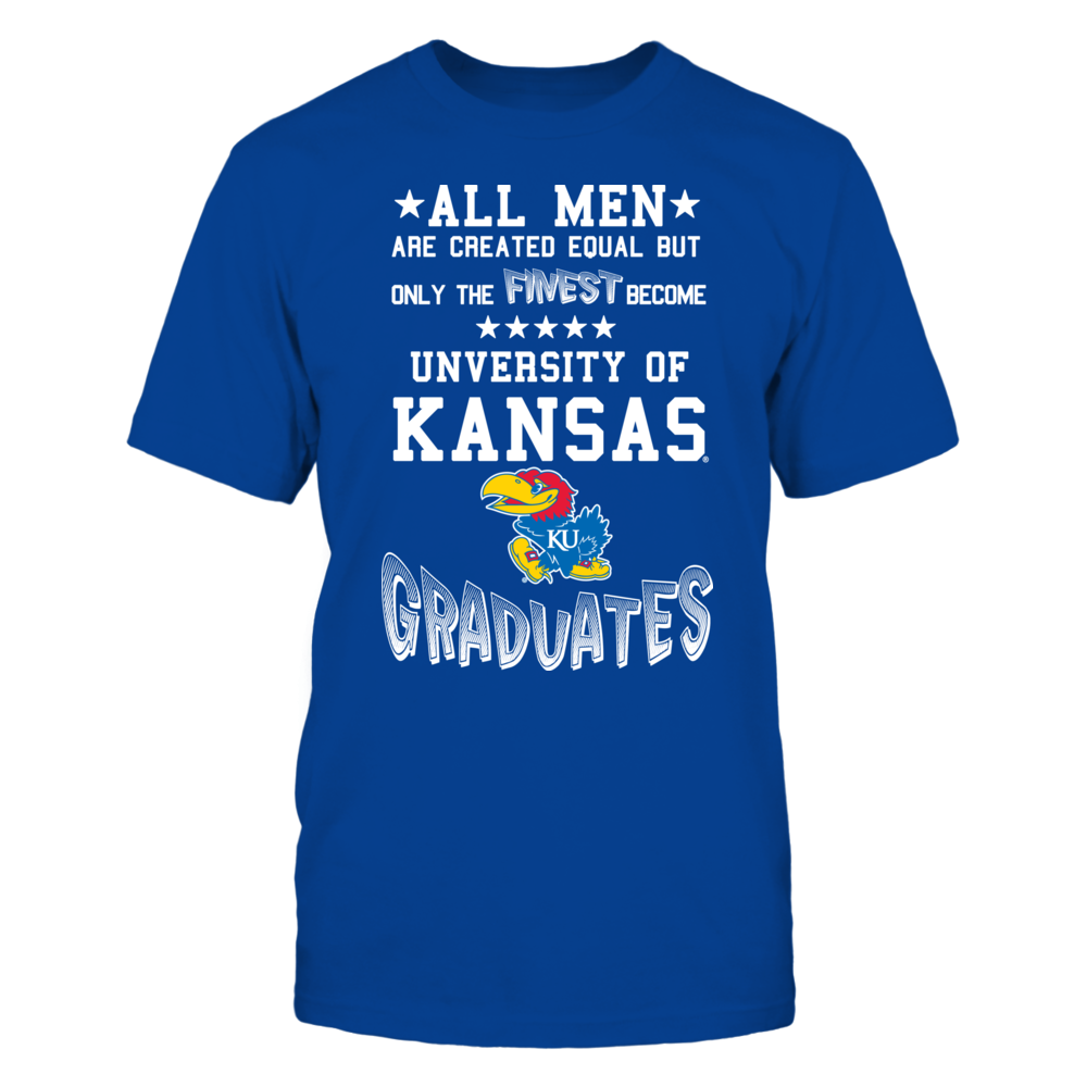 Men Kansas Graduates Front picture