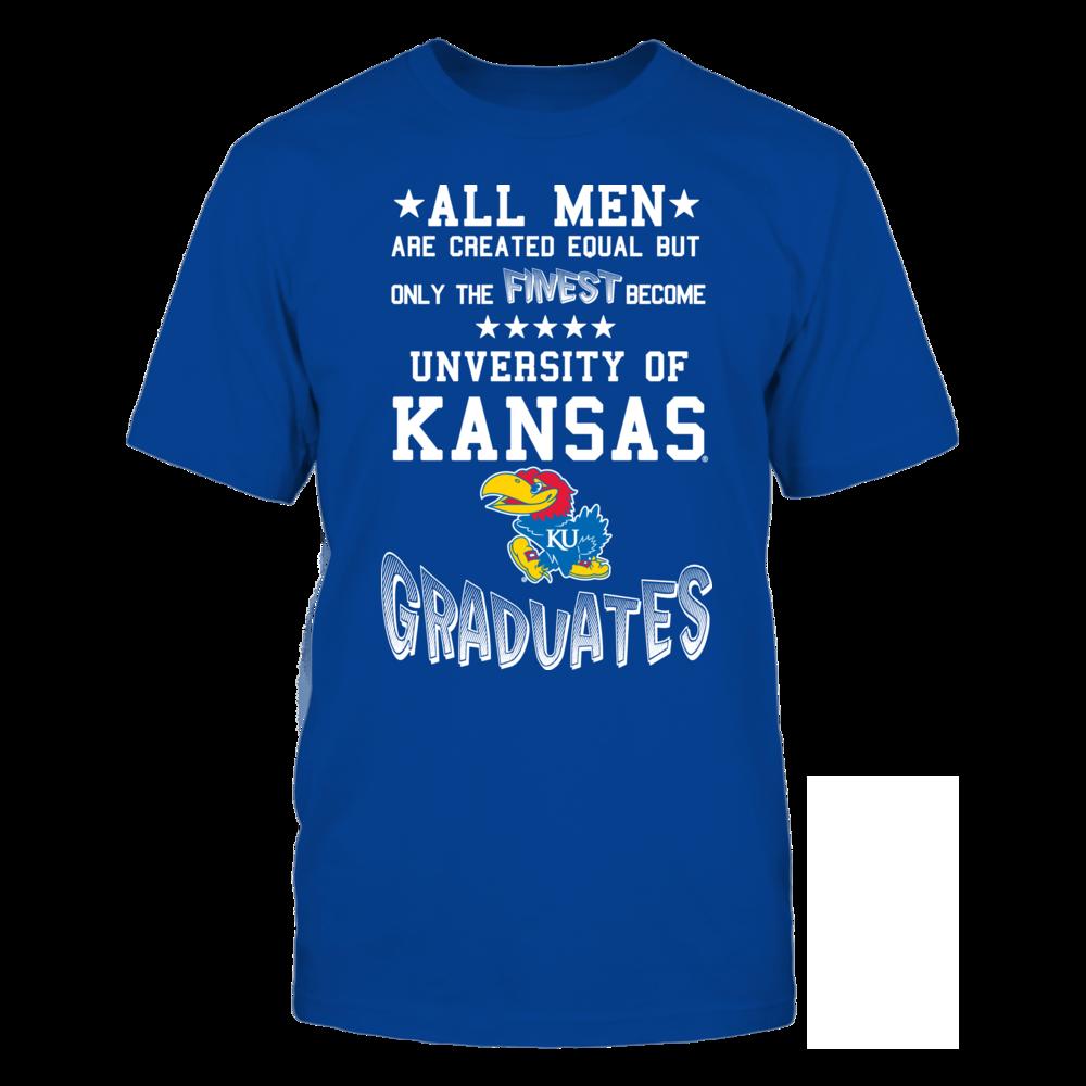 Men Kansas Graduates Front picture