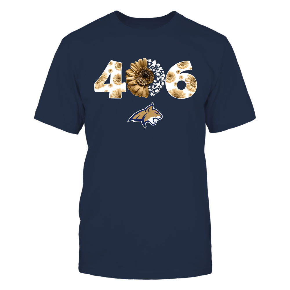 Montana State Bobcats - Daisy Area Code - Ugly Sweater - IF-IC78-DS85 Front picture