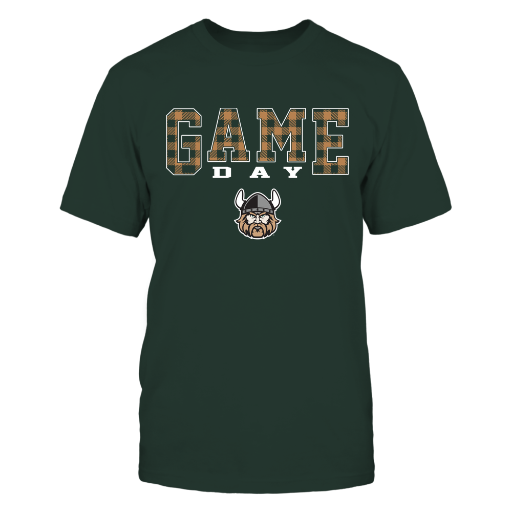 Cleveland State Vikings - Game Day - Checked Pattern - Team Front picture