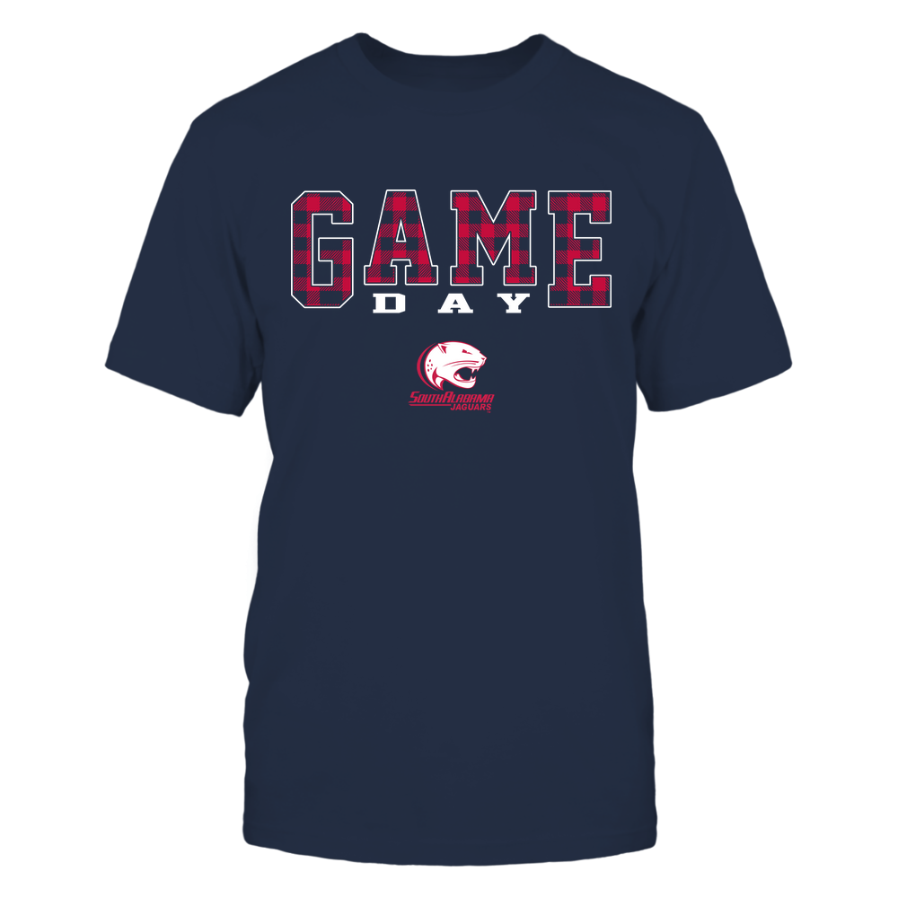South Alabama Jaguars - Game Day - Checked Pattern - Team Front picture