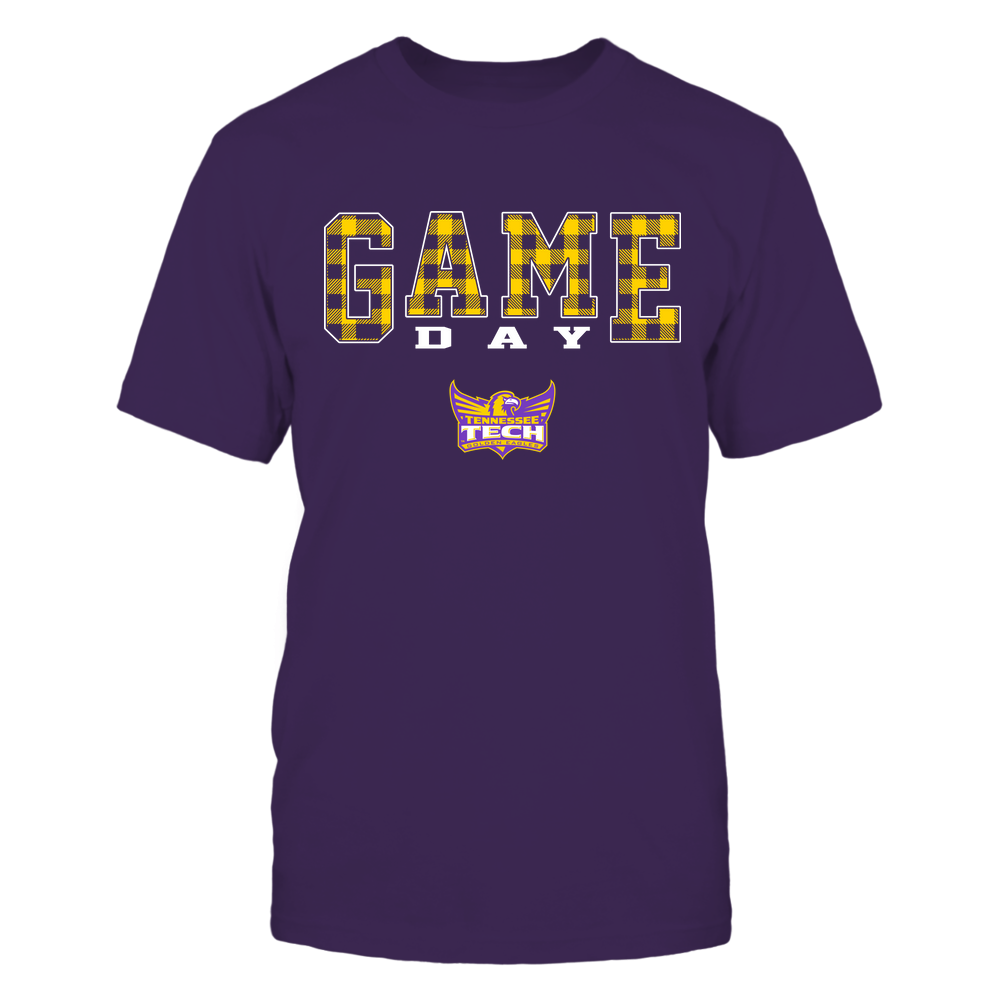 Tennessee Tech Golden Eagles - Game Day - Checked Pattern - Team Front picture
