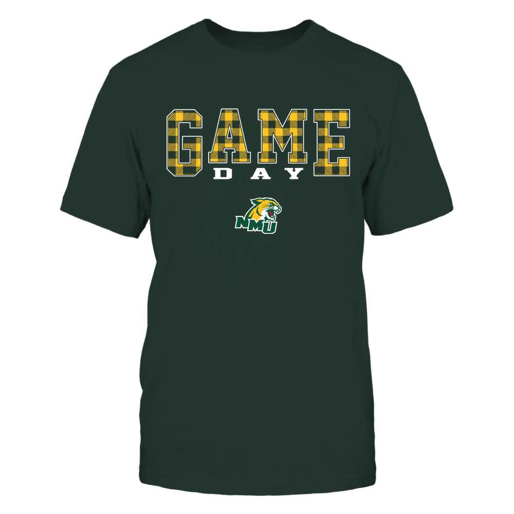 Northern Michigan Wildcats - Game Day - Checked Pattern - Team Front picture