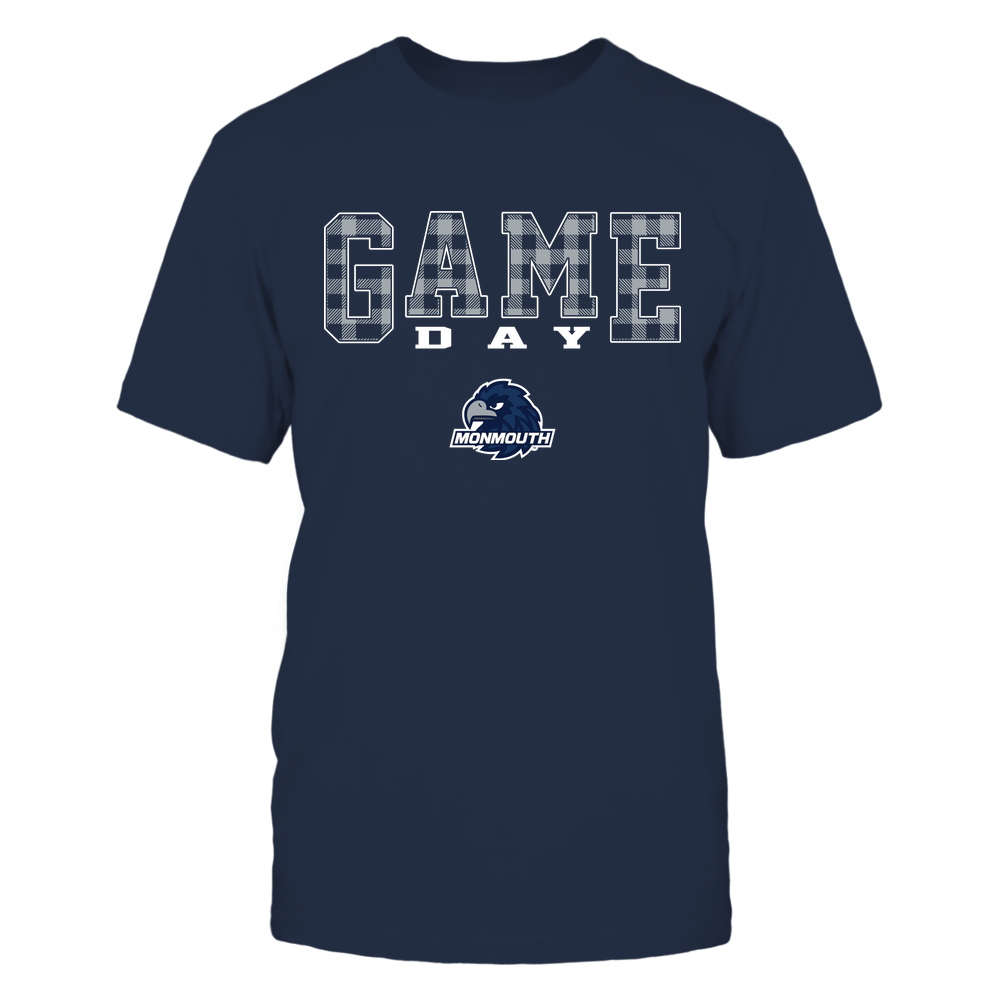 Monmouth Hawks - Game Day - Checked Pattern - Team Front picture