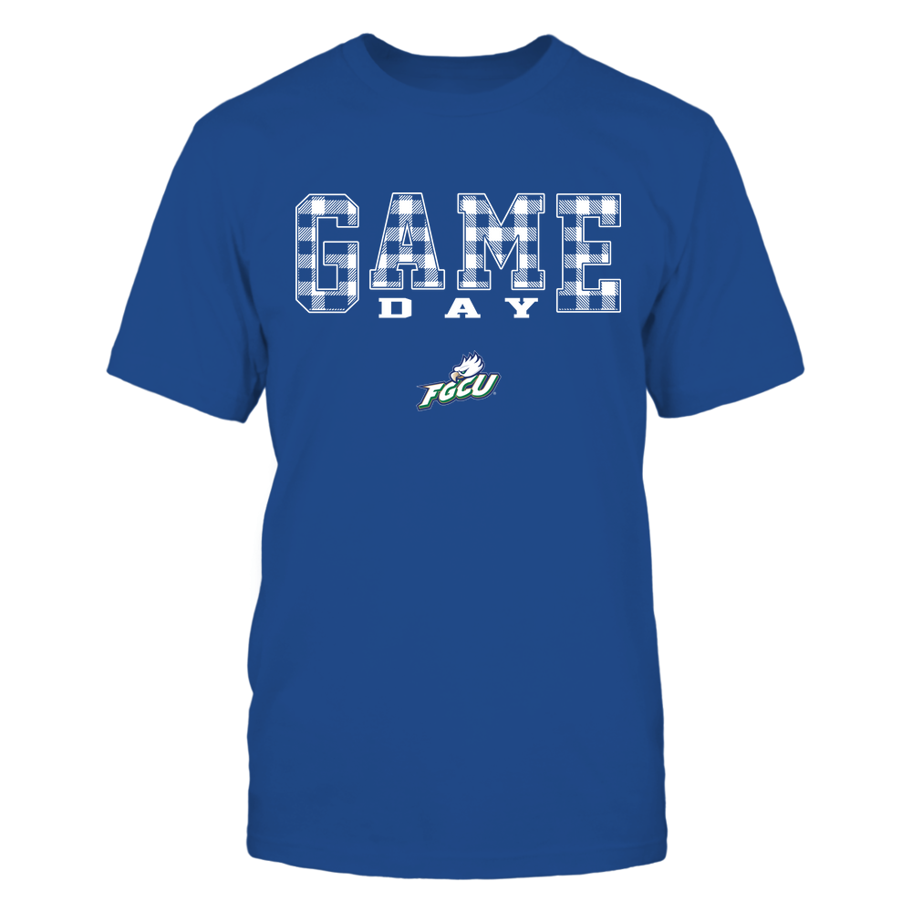 Florida Gulf Coast Eagles - Game Day - Checked Pattern - Team Front picture