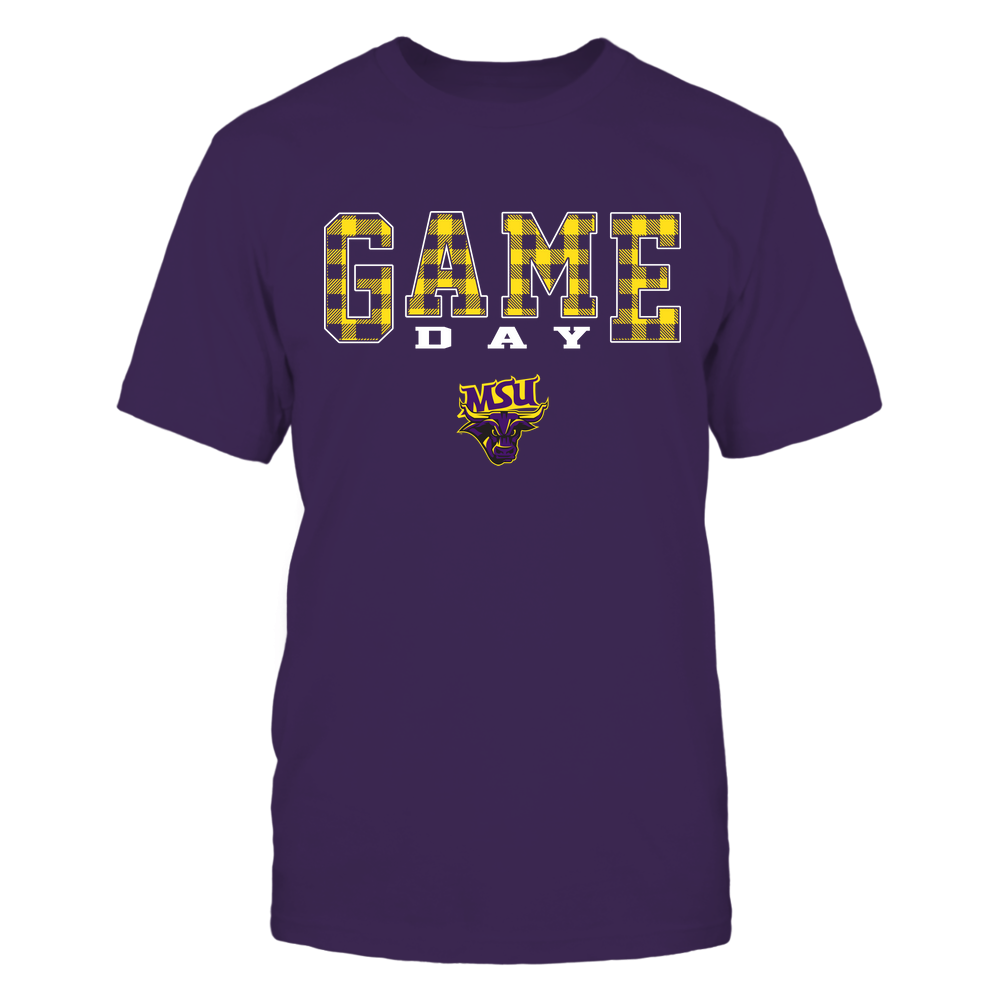 Minnesota State Mavericks - Game Day - Checked Pattern - Team Front picture