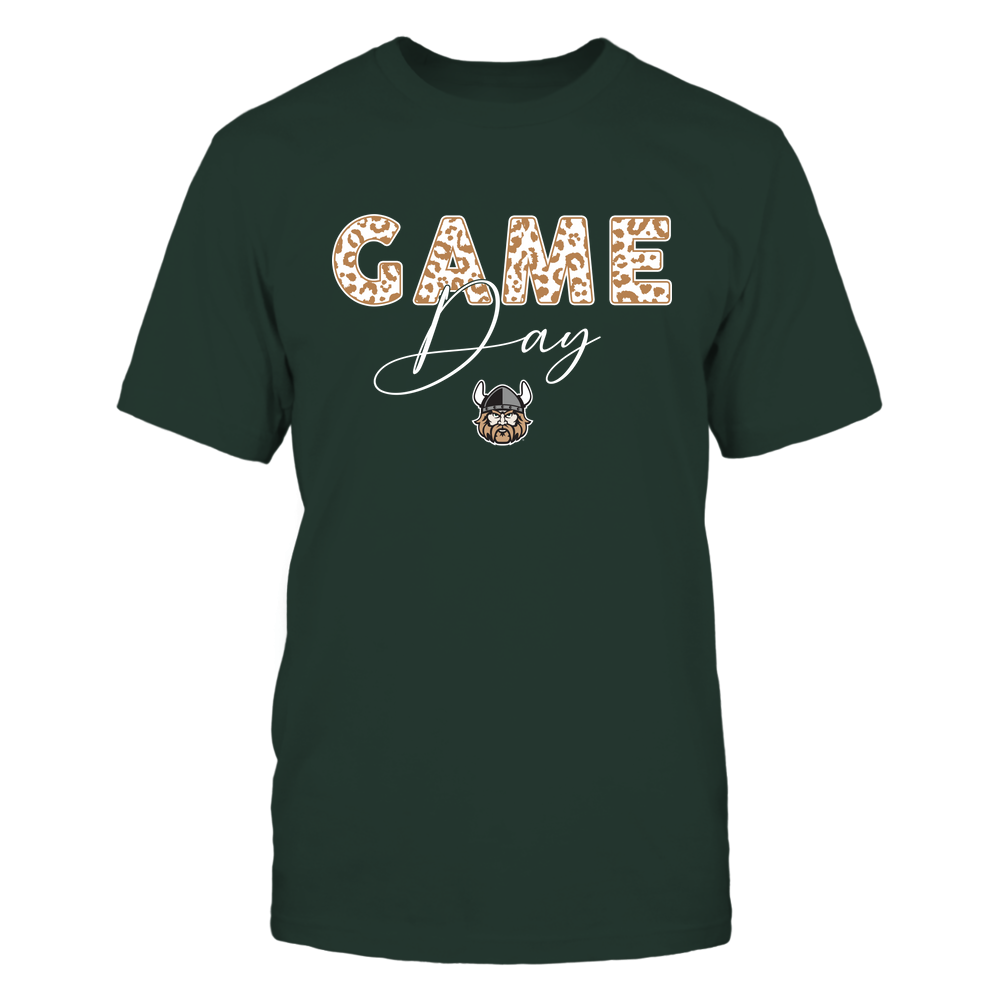 Cleveland State Vikings - Game Day - Leopard Swirly - Team Front picture