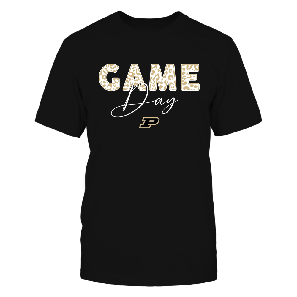 Purdue Boilermakers - Game Day - Leopard Swirly - Team Front picture