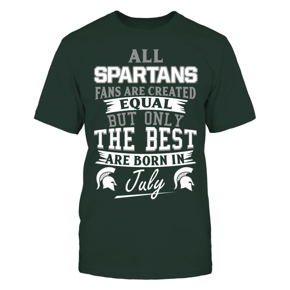 Spartans Fans - July Front picture