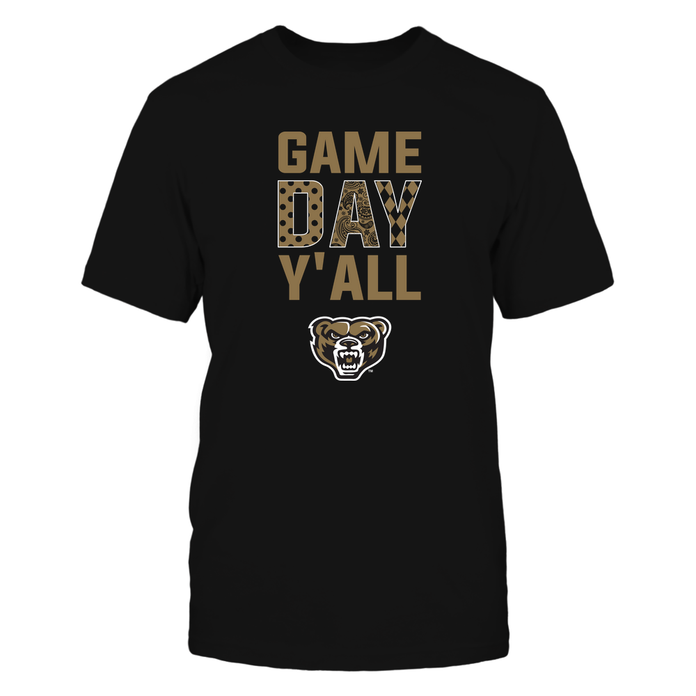 Oakland Golden Grizzlies - Game Day Y'all - Patterned Day - Team Front picture