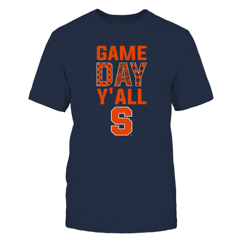 Syracuse Orange - Game Day Y'all - Patterned Day - Team Front picture