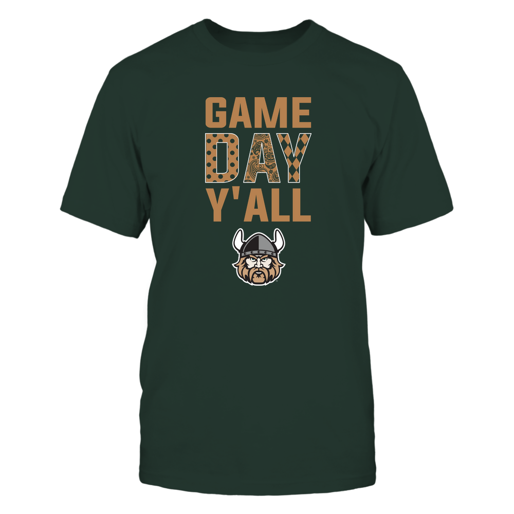 Cleveland State Vikings - Game Day Y'all - Patterned Day - Team Front picture