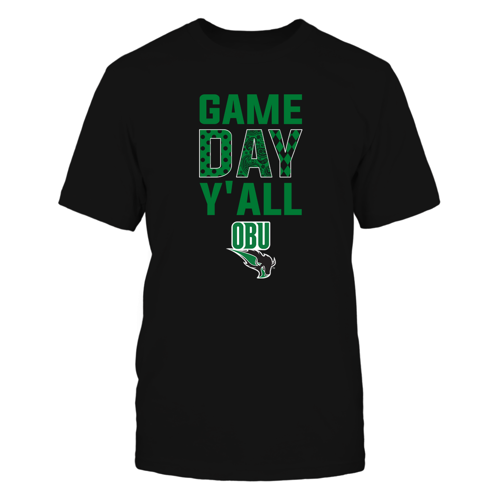 Oklahoma Baptist Bison - Game Day Y'all - Patterned Day - Team Front picture